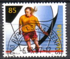 Zu 1228 / Mi 1997 / YT 1923 Sport Football Féminin Obl. 1er Jour Demi-lune BERN 1 SCHANZENPOST - Switzerland