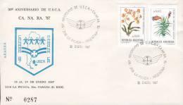 Argentina 1987 Cover Letra Aniversario De U.S.C.A. Limited Edition No. 0287 - Argentinien