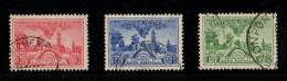 AUS SC #159-61  1936 Centenary Of South Australia  W/#161 - Sm Perf Flts @ BC CV $14.35 - 1913-36 George V : Other Issues