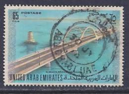 United Arab Emirates, Scott # 17 Used Almagta Bridge, 1973 - Emirati Arabi Uniti