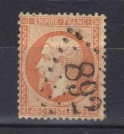 France  N° 23 Oblitéré (1862) - 1862 Napoléon III