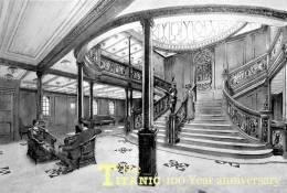 SA24-007    @  R.M.S. Titanic Ship , Ganzsache-Postal Stationery -Entier Postal - Barche