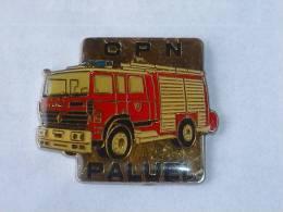 Pin's SAPEURS POMPIERS DE PALUEL - Feuerwehr
