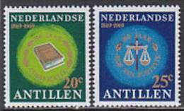 Niederlaendische Antillen 1969. Gerichtshof, Gesetzbuch (B.0785) - Antillen