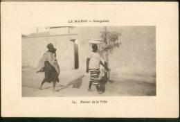 Sénégalais Retour De La Ville - Morocco