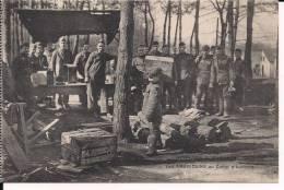 Auvours Sarthe Les Américains Au Camp 14-18 1914-1918 WWI Ww1 1wk Poilus - Other Municipalities