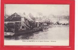 AFRIQUE / DAHOMEY / METIERS / CHANTIER NAVAL / Atelier De Réparations Sur La Lagune Portonovo / Précurseur - Dahomey