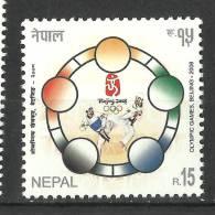 NEPAL, 2008, Summer Olympic Games,  Olympic,  Beijing,,  MNH, (**) - Nepal