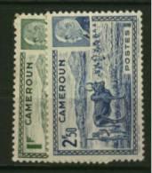 Cameroun  N° 200 & 201   Neuf  **  Luxe  Cote Y & T  2,00  Euro Au Quart De Cote