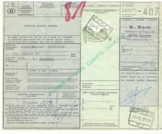 338-België  Spoorweg Chemin De Fer  Document  DC 1985  Stempel EUPEN N° 1 - 1952-....