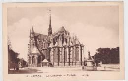 AMIENS - CATHEDRALE - N° 4 - L' ABSIDE - PETITS TROUS DE PUNAISE - Amiens