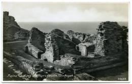 TINTAGEL : RUINS OF KING ARTHUR'S CASTLE - Angleterre