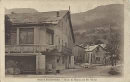 74 - MONT-SAXONNEX - Haute-Savoie - Route De Brison, Vue Des Glaciers - Autres Communes