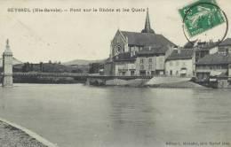 74 - SEYSSEL - Haute-Savoie - Pont Sur Le Rhône Et Les Quais - Autres Communes