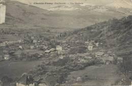 74 - CHEDDE-PASSY - Haute-Savoie - Vue Générale - Autres Communes