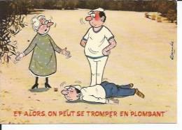 820-4 - ET ALORS, ON PEUT SE TROMPER EN PLOMBANT - DESSIN: ALEXANDRE ( BOULES - PETANQUE ) - Alexandre