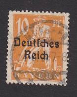 Bavaria, Scott #257, Used, Plowman Overprinted, Issued 1920 - Bavaria