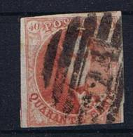 Belgium OBP 8 Used Cancel 23 Brugge - 1851-1857 Médaillons (6/8)