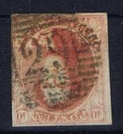 Belgium OBP 8 Used Cancel 29 Courtrai - 1851-1857 Médaillons (6/8)