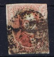 Belgium OBP 8 Used 1851 - 1851-1857 Médaillons (6/8)