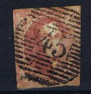 Belgium OBP 8 Used 1851, Cancel 45 Gent - 1851-1857 Médaillons (6/8)