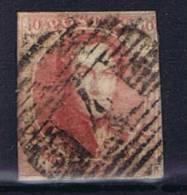 Belgium OBP 8 Used 1851, Cancel 4 Antwerpen - 1851-1857 Médaillons (6/8)