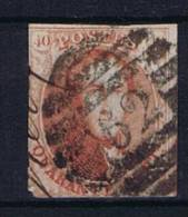 Belgium OBP 8 Used 1851, Cancel 62 Huy - 1851-1857 Médaillons (6/8)
