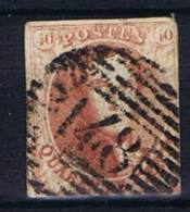 Belgium OBP 8 Used 1851, Cancel 148 Walcourt - 1851-1857 Médaillons (6/8)