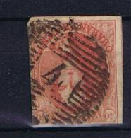 Belgium OBP 12 A, 21 Mm  Used 1858