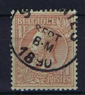 Belgium OBP 51 , 1884  Used Obl.
