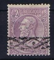 Belgium OBP 52 , 1884  Used Obl.