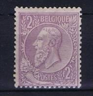 Belgium OBP 52 , 1884  MH/*