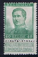 Belgium OBP 114 , MH/*