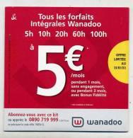 Kit Connexion Internet Wanadoo Variante Bandeau Du Bas - Kits De Connexion Internet
