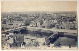 3pk887: 146 - LE MANS - Panorama Vu De L' Eglise ST-BENOIT - Le Mans