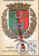 87 - LE PALAIS SUR VIENNE - ARMOIRIES - 1983 - France