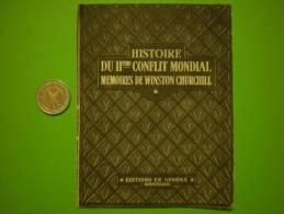 Petit Feuillet Publicitaire Du II' Conflit Mondial, Mémoire De Winston ChurChill - Vieux Papiers