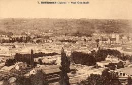 CPA -BOURGOIN-Jallieu(38)- Vue Générale Sur La Gare - Bourgoin