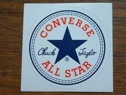 CONVERSE ALL STAR - Sticker / Zlfklever ( +/- 7 Cm - Zie/voir Details Foto ) ! - Autocollants