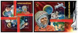 GUINEA BISSAU 2012 - Soviet Space Investigation. M/S + S/S Official Issue