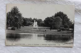 87 MONTPELLIER JADRIN DE L'ESPLANADE MONUMENT AUGUSTE-COMTE - Montpellier