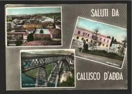 BERGAMO - SALUTI DA CALUSCO D´ADDA - Bergamo