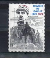LOT 324 - T.A.A.F P.A 118** -  GENERAL DE GAULLE-  Cote 9.30 € - De Gaulle (Generale)