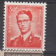 BELGIUM USED COB  1074 - 1953-1972 Lunettes