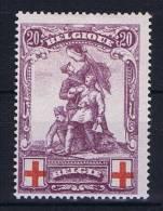 Belgium: OBP  128,  MH/*, Rode Kruis, Croix Rouge - 1914-1915 Rode Kruis