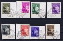 Belgium: Antituberculeux 1937 - OBP 458-465 - FDC