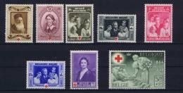 Belgium:  OBP 496 - 503 , MNH /**