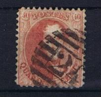 Belgium:  OBP  16 ,  Used / Obl, 1863