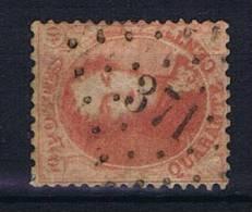 Belgium:  OBP  16 ,  Used / Obl, 1863, Cancel 371  St Gillens