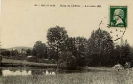 91 -GIF- Etang Du Chateau - Gif Sur Yvette